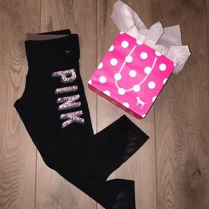 PINK Victoria's Secret Pants - PINK By VS leggings 🏋🏽♀️💕